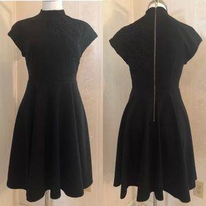 Plenty by Tracy Reese Black Lace Appliqué Dress 4
